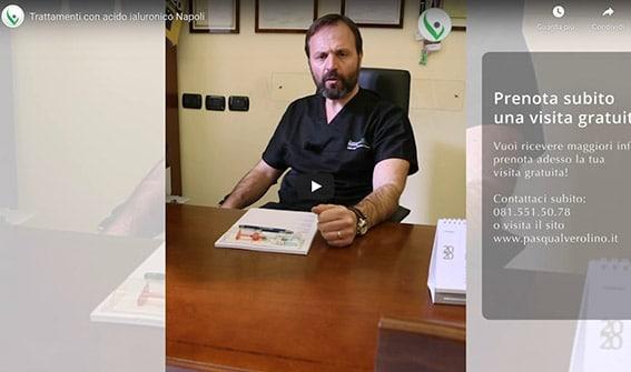Acido ialuronico viso (video) - Dr. Pasquale Verolino